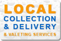 Local collection and delivery and valeting services