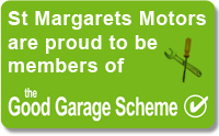 St Margarets Motors are proud to be a member of the Good Garage Scheme